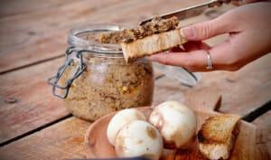 Pâté végétal aux champignons et aux graines de moutarde – La fille du boulanger cuisine…