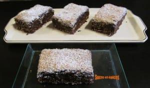 Brownie à la noix de coco
