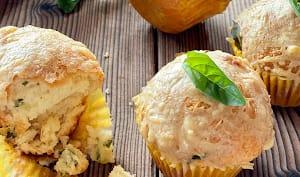 Muffins saumon basilic