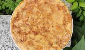 Frittata de patate douce et de taro