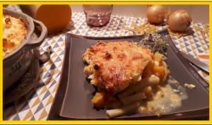 Gratin de macaroni à la butternut