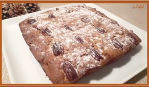 Cake aux noix et dattes moelleuses
