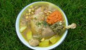 Cazuela de pollo