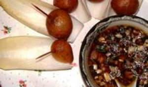 Beignets d'escargots façon asiatique