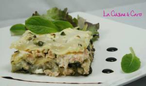 Lasagnes Saumon - Epinards