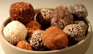 Truffes aux 3 chocolats