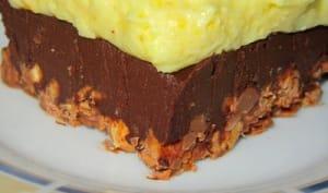 Délice crémeux mousseux aux 3 chocolats