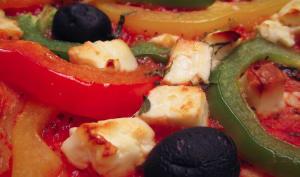 Pizza grecque