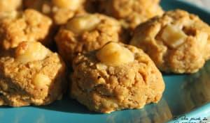 Cookies au comté et à la noisette