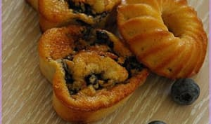 Muffins myrtilles et pamplemousse