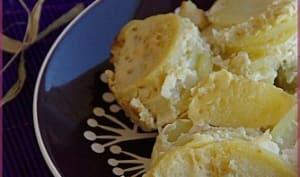 Gratin de pommes de terre au lait d'amande