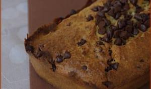 Gateau à la noix de coco et aux pépites de chocolat