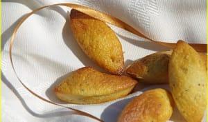 Petits gateaux au citron et graines de pavot