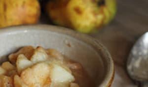 Compote de poires vanillée au miel d'acacia