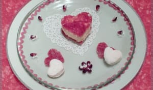 "Caresse ""rose-framboise"" de la Saint-Valentin"