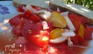 Ceviche de tomates