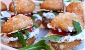 Variations gourmandes de mini whoopies salés