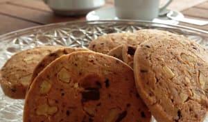 Les biscuits au café et aux noix