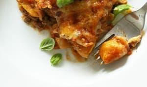 Gratin de gnocchis aux carottes, sauce tomate et boeuf