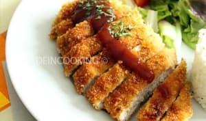 Poulet katsu - Sauce Tonkatsu