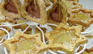 Biscuits sablés à l'orange et aux épices