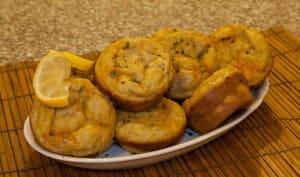 Muffins d'avocat au thon et chorizo