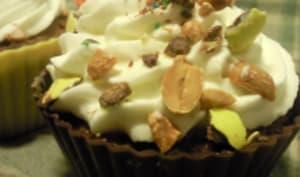 Cupcake aux M&M's