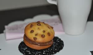Whoopies aux éclats de chocolat.