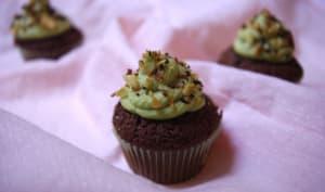 Cupcakes chocolat amandes avocat