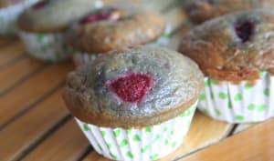 Muffins Framboise – Yaourt Light