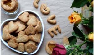 Mes petits biscuits sains et pleins d'amour