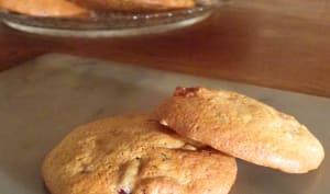 Cookies au son de blé et vergeoise, à la noisette et aux cranberries