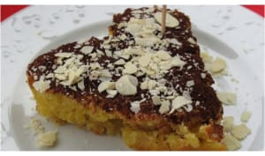 gâteau aux amandes pour la Saint-Valentin