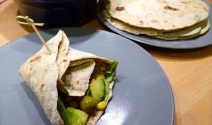Tortillas à la roquette