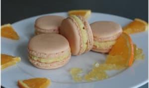 Macarons orange et passion
