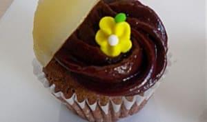 Cupcakes chocolat poires