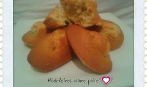 Madeleines arôme Poire