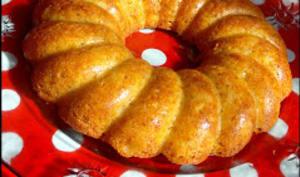 Moelleux aux pomme à la farine de Maïs