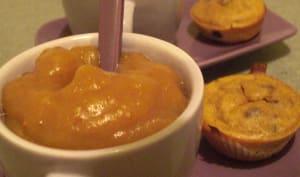 Compote pommes, orange et figues sèches