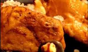 Médaillons de porc aux noix de Pecan et au sel bleu de Perse