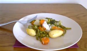 Jardinière de légumes maison