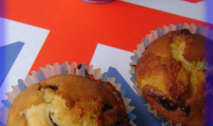 Muffins au chocolats de Pâques
