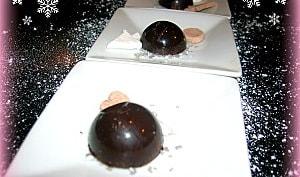 CHOCOLAT DE NOËL PRALINE COEUR NOIX