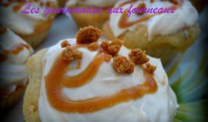Cupcake au coeur de Speculoos
