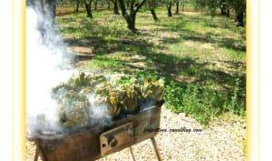 Artichauts au barbecue