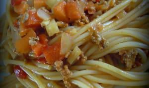 Bolognaise de légumes