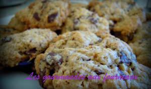 Cookies à la cannelle et pépites de chocolat