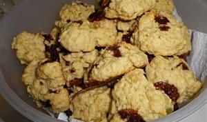 Cookies carambar gingembre