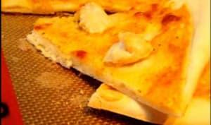 Pizza poulet curry