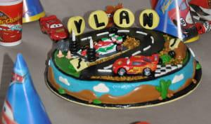 Gâteau 3D Cars